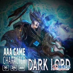 3A奇幻游戏和预告片角色黑暗之王WAV高品质音效素材