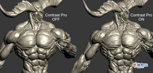 3DSMAX模型细节增强修改器 Contrast Pro 1.0 for  3DSMAX 2013 - 2022