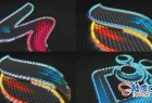 AE模板 现代工业多彩3D元素标识LOGO展示视频 Stroke Element Logo Reveal