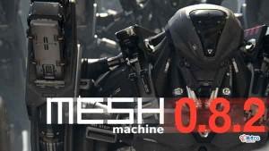 Blender网格建模插件 MESHmachine 0.8.2 For Blender 2.93