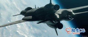 Blender / moi3D / Octane创建宇宙飞船三维模型效果全流程视频教程