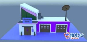 C4D创建杂货店3D简单模型初学入门教程