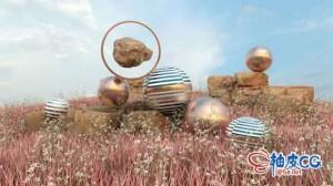 Cinema 4D创建3D景观关键技术视频教程