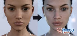 DAZ Studio创建真实感女性角色实例视频教程