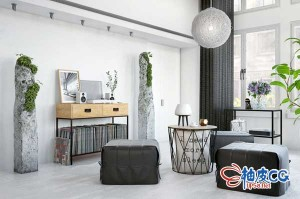 C4D / 3DSMAX / VRay室内设计壁挂装饰件高品质3D模型