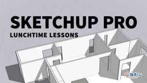 SketchUp Pro室内外建筑精确建模视频教程