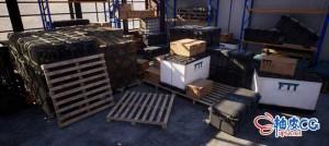 Blender / Marmoset专业制作军事游戏道具3D资产视频教程