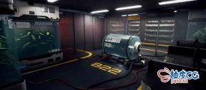Blender & UE4创建科幻感游戏环境全流程视频教程