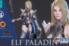 3DSMAX / Maya / Blender / UE4游戏风格精灵圣骑士精细3D模型