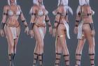 3DSMAX / Maya / Blender / UE4 / ZBrush游戏风格神秘女主角精细3D模型